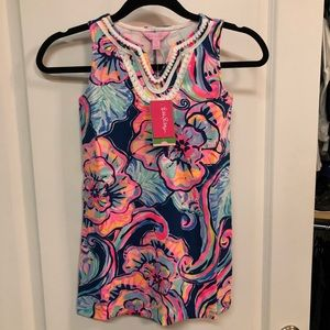 Lilly Pulitzer Girls Mini Harper Shift Dress